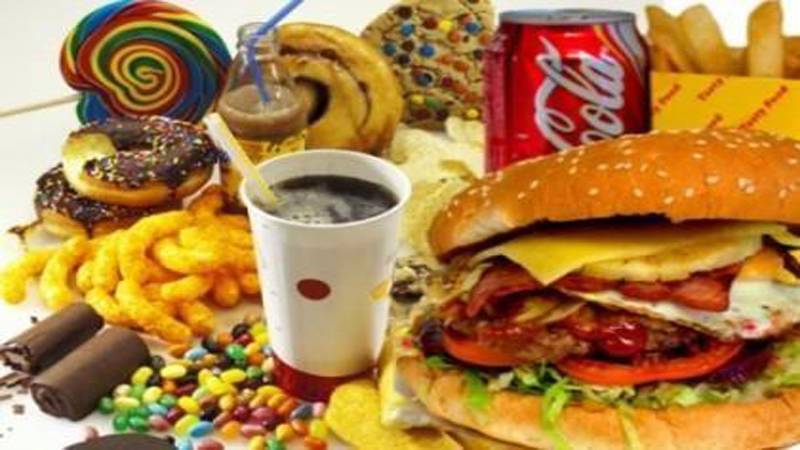 how often do you eat junk food and how often is too often how much