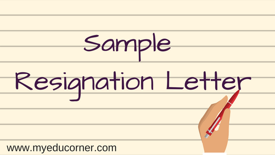 sample resignation letter professional resignation letter two